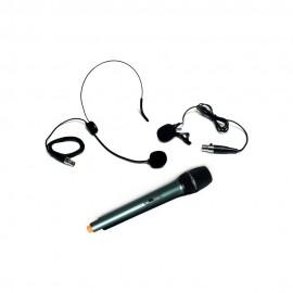 Combo de Micrófonos Inalámbricos UHF, REDLEAF